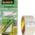 Fita Adesiva Fechameto de Caixas 3M Scotch 45mm x 45m